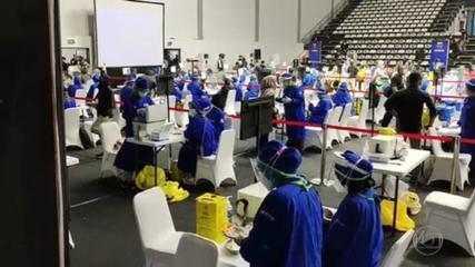 Indonésia vacina 5 mil jornalistas