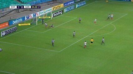Melhores momentos de Bahia 2 x 0 Santos pela 38ª rodada do Brasileirão 2020