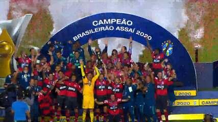 Flamengo campeão: os golaços e a trajetória do título