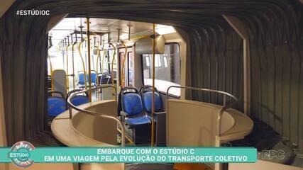 Assista ao bloco 1 completo do 'Estúdio C': a história completa dos ônibus de Curitiba