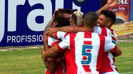 Os gols de Náutico 5 x 0 Central pela 1ª rodada do Pernambucano
