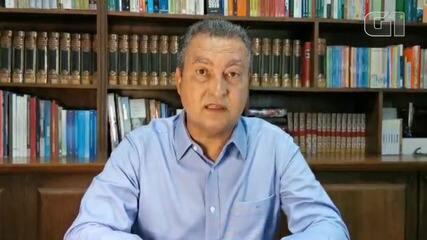 Governador da Bahia anuncia prorrogação de medidas restritivas por mais 48  horas | Bahia | G1