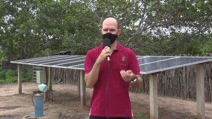 Projeto de energia solar da UFPI ajuda a levar água para comunidades em Oeiras