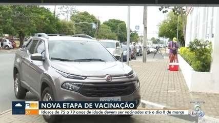 Prefeitura de Boa Vista inicia vacinação de idosos entre 75 à 79 anos