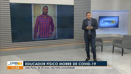Educador físico morre vítima de Covid-19, na Paraíba