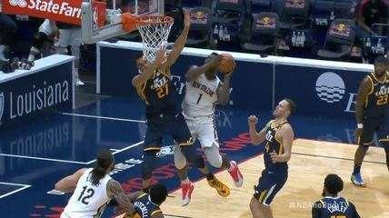 Melhores momentos: Utah Jazz 124 x 129 New Orleans Pelicans pela NBA