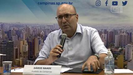 Prefeito Dário Saadi anuncia retorno da região de Campinas à fase vermelha do Plano SP