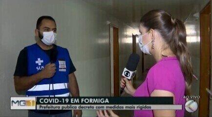Novo decreto determina medidas mais rígidas contra a Covid-19 em Formiga