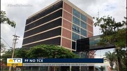 Polícia Federal investiga indícios de corrupção em obras do TCE