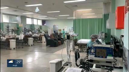 Estado de São Paulo bate recorde de pacientes internados por causa da Covid-19