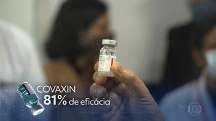 Vacina Covaxin apresenta eficácia preliminar de 81% contra casos sintomáticos