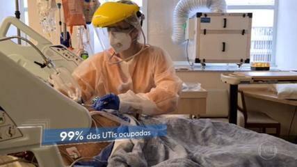 Ocupação de UTI particular em São Paulo já supera a da rede pública