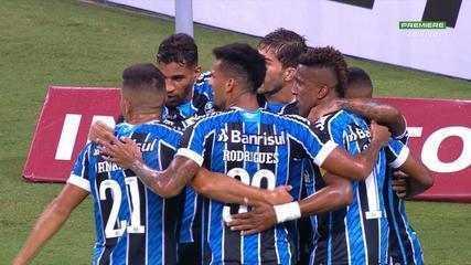 Veja os melhores momentos de Grêmio 4x1 Brasil de Pelotas, pela 2ª rodada do Gauchão