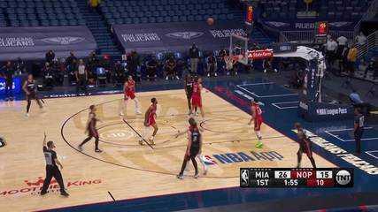 Melhores momentos: New Orleans Pelicans 93 x 103 Miami Heat pela NBA