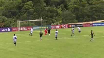 Os gols de Retrô 1 x 7 Brasil em amistoso Sub-18