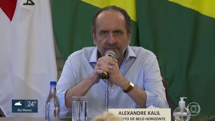 Belo Horizonte volta a fechar comércio por causa da Covid-19