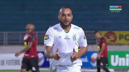 Melhores momentos de Pouso Alegre 1 x 2 América-mg,pelo Campeonato Mineiro