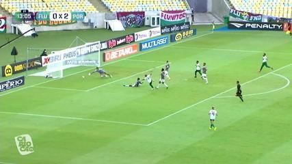 Melhores momentos de Fluminense 0 x 3 Portuguesa-RJ pela 2ª rodada do Campeonato Carioca