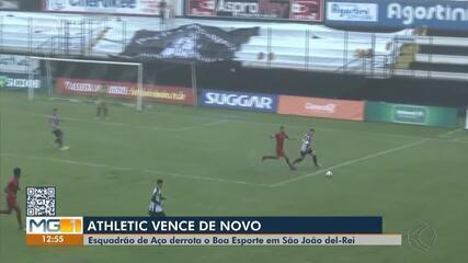 Athletic vence Boa Esporte pelo Campeonato Mineiro