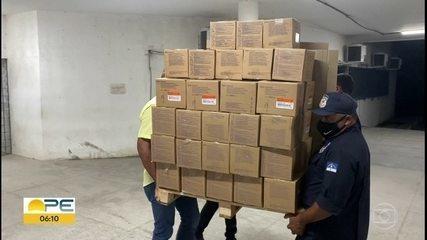 Pernambuco recebe mais 110,8 mil doses de vacina contra Covid-19