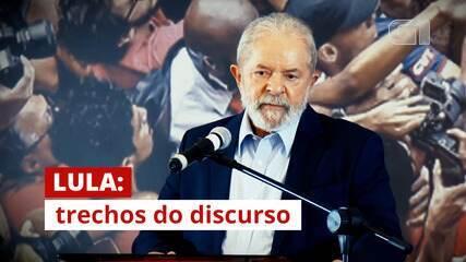 VÍDEO: Veja frases de Lula em discurso após ter condenações anuladas