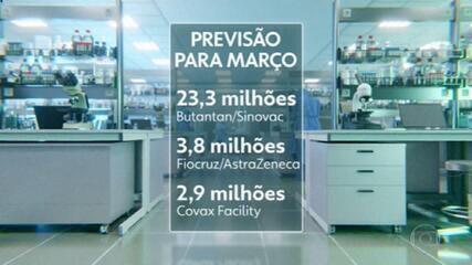 Bolsonaro sanciona projetos que facilitam compra de vacinas.