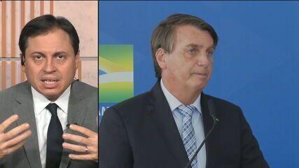 Camarotti: presidente Bolsonaro não está confortável em usar máscara