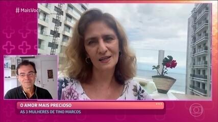 Esposa e filhas de Tino Marcos mandam mensagem para o jornalista
