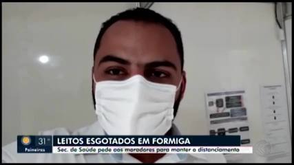 Secretário de Sáude de Formiga fala sobre esgotamento de leitos na cidade