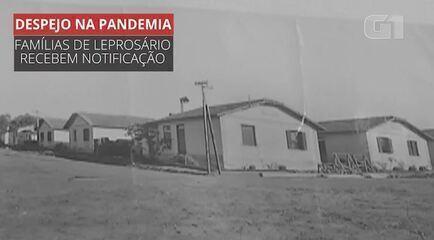 VÍDEO: famílias que moram no 1º leprosário do Brasil recebem notificações de despejo