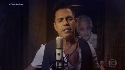 Zezé Di Camargo canta em homenagem ao pai, Seu Francisco