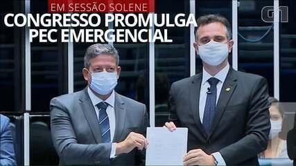 VÍDEO: Congresso promulga PEC Emergencial