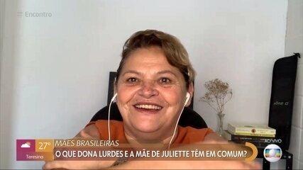 Mãe de Juliette diz estar orgulhosa da filha no BBB21