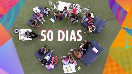 50 dias de BBB21