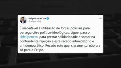 Presidente da OAB sobre intimação a Felipe Neto: recado intimidatório e antidemocrático