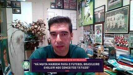 Confira a entrevista de Abel Ferreira na íntegra ao Seleção SporTV