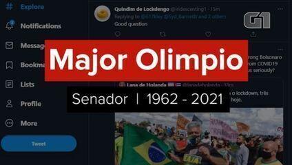 Nas redes sociais, políticos lamentam morte de Major Olimpio
