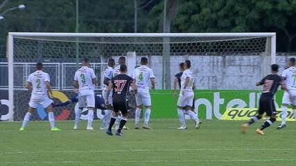Melhores momentos: Caldense 1 x 1 Vasco pela 1ª fase da Copa do Brasil 2021