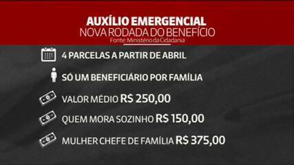Bolsonaro assina MP que recria auxílio emergencial
