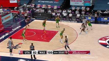 Melhores momentos: Washington Wizards 131 x 122 Utah Jazz, pela NBA