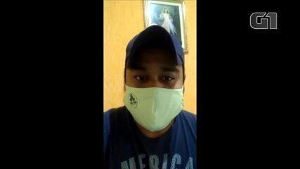 Enfermeiro Samu comenta sobre trabalho na pandemia