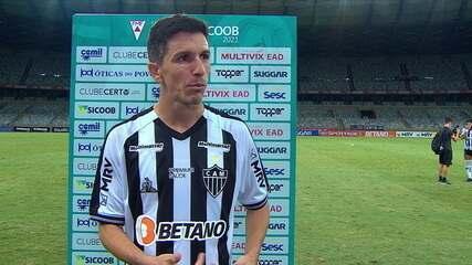 Nacho Fernández fala sobre estreia brilhante com a camisa do Atlético-MG