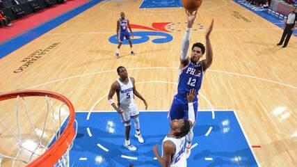 Melhores momentos: Philadelphia 76ers 129 x 105 Sacramento Kings pela NBA