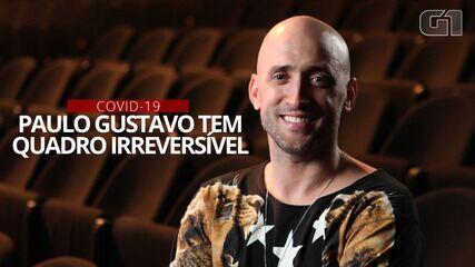 VÍDEO: Paulo Gustavo, infectado pelo coronavírus, é intubado no Rio de Janeiro