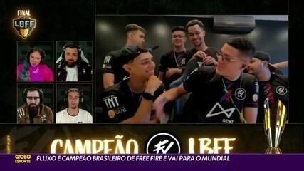 Fluxo é campeão brasileiro de Free Fire e vai para o Mundial