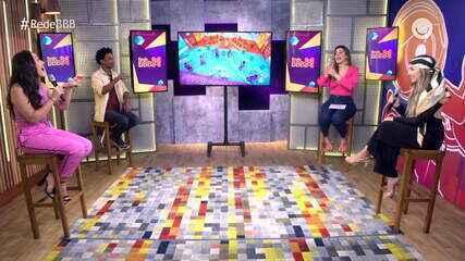 Mesa BBB recebe Carla Diaz, Thiago Fragoso, influenciadores e ex-BBB; confira!