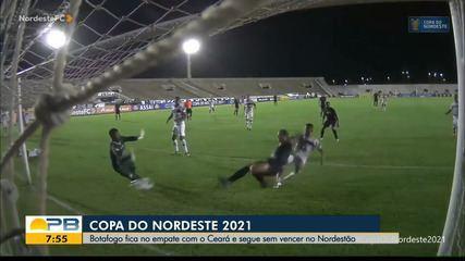 Botafogo-PB 1 x 1 Ceará, pela rodada #5 da Copa do Nordeste
