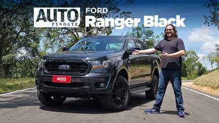 Vídeo: Ford Ranger Black é a picape diesel com preço de Chevrolet S10 e Toyota Hilux flex