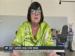 Com queda na taxa de ocupação de leitos, Araraquara recebe pacientes de outras cidades