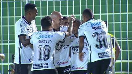 Os gols de Corinthians 1 (5) x (3) 1 Retrô, pela segunda fase da Copa do Brasil